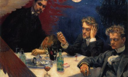"""Simposio"" (1894), de Akseli Gallen-Kallela"