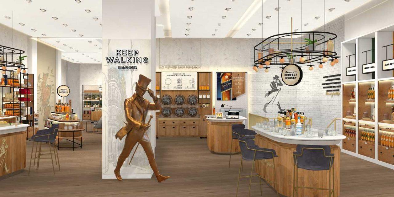 Diageo abrirá la primera tienda 'Johnnie Walker' de Europa en Serrano 2 (Madrid)