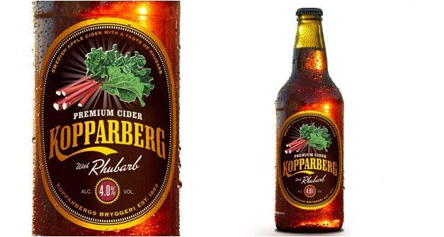 Kopparberg lanza su nueva sidra con sabor a ruibarbo solo durante un año