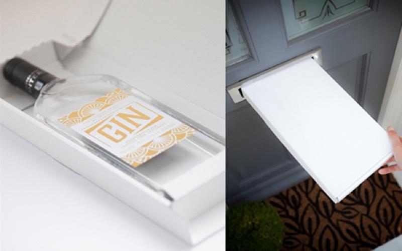Letterbox Spirits lanza ginebra y vodka aptas para meter en buzones
