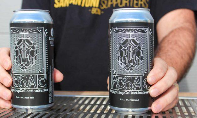 Cervesa Espiga lanza 'Mosaic' en lata