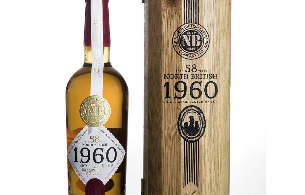 North British presenta un whisky escocés de 58 años, The North British 58 Year Old