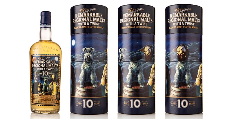 Douglas Laing incluye todas las regiones escocesas en The Remarkable Regional Malts