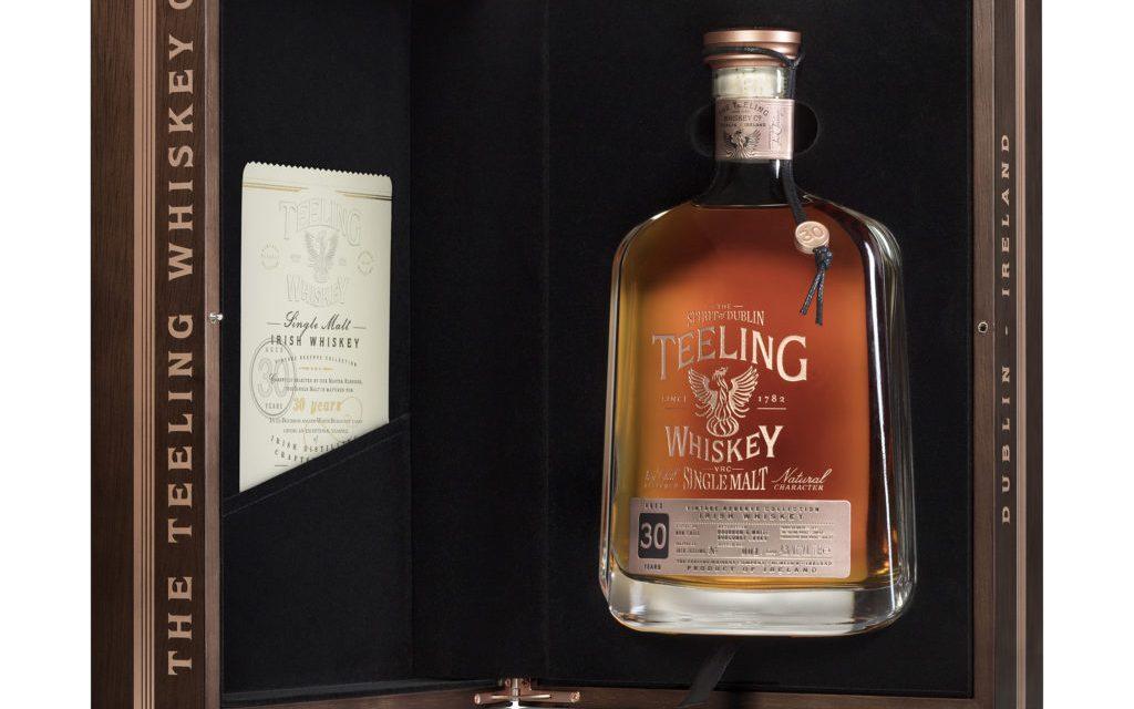 Teeling lanza 500 botellas de un single malt de 30 años como parte de Vintage Reserve