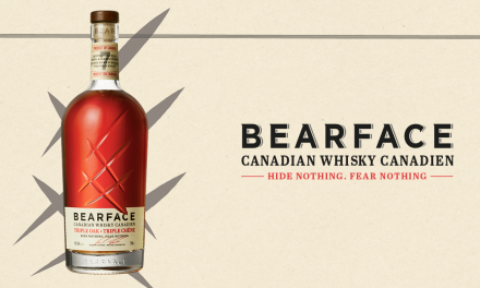 Mark Anthony estrena el 'innovador' whisky canadiense Bearface Triple Oak