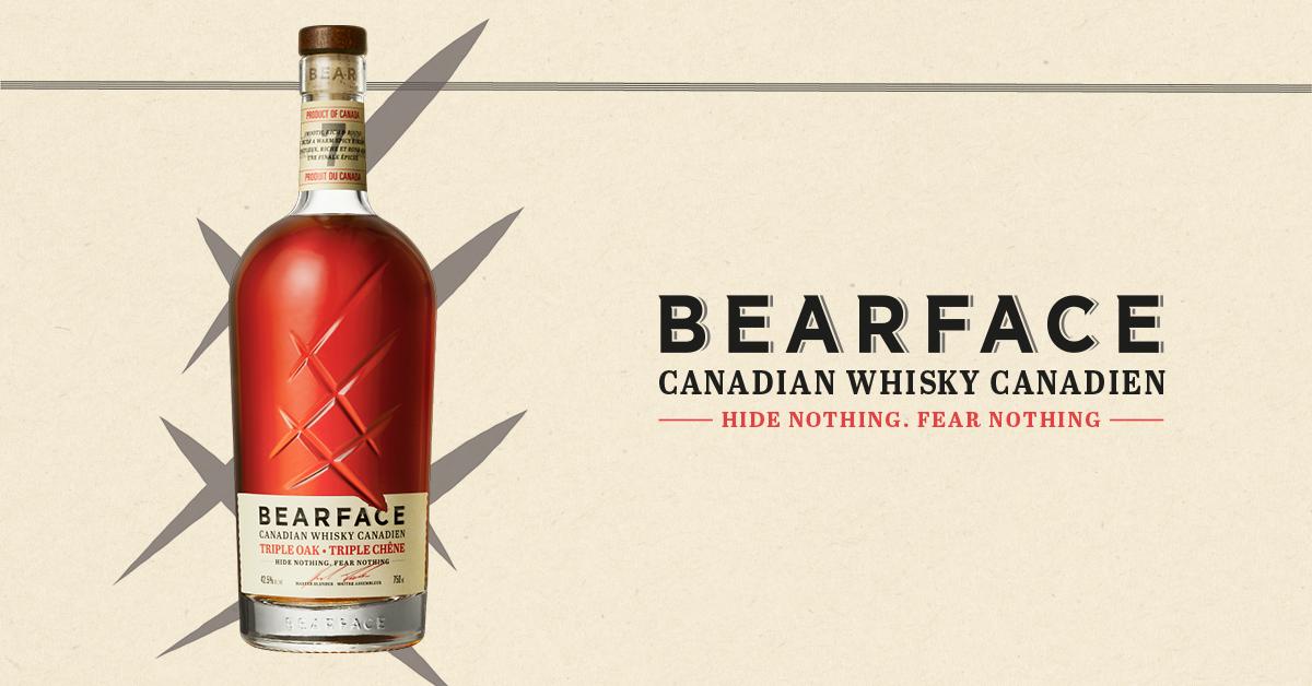 Mark Anthony estrena el 'innovador' whisky canadiense Bearface Triple Oak