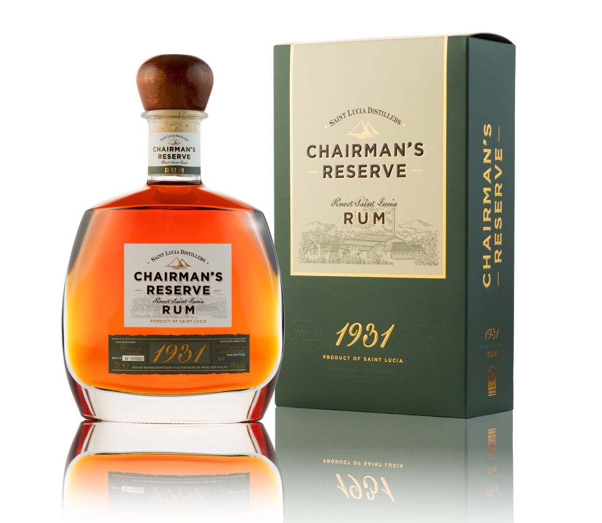 Chairman's Reserve 1931 Launches in the U.S., Praising Nearly 90 Years of Saint Lucian Rum Craftsmanship