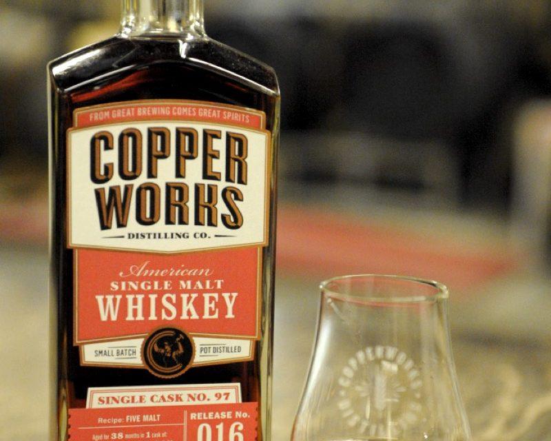 Copperworks celebra cinco años con whisky de barril único, Release 016
