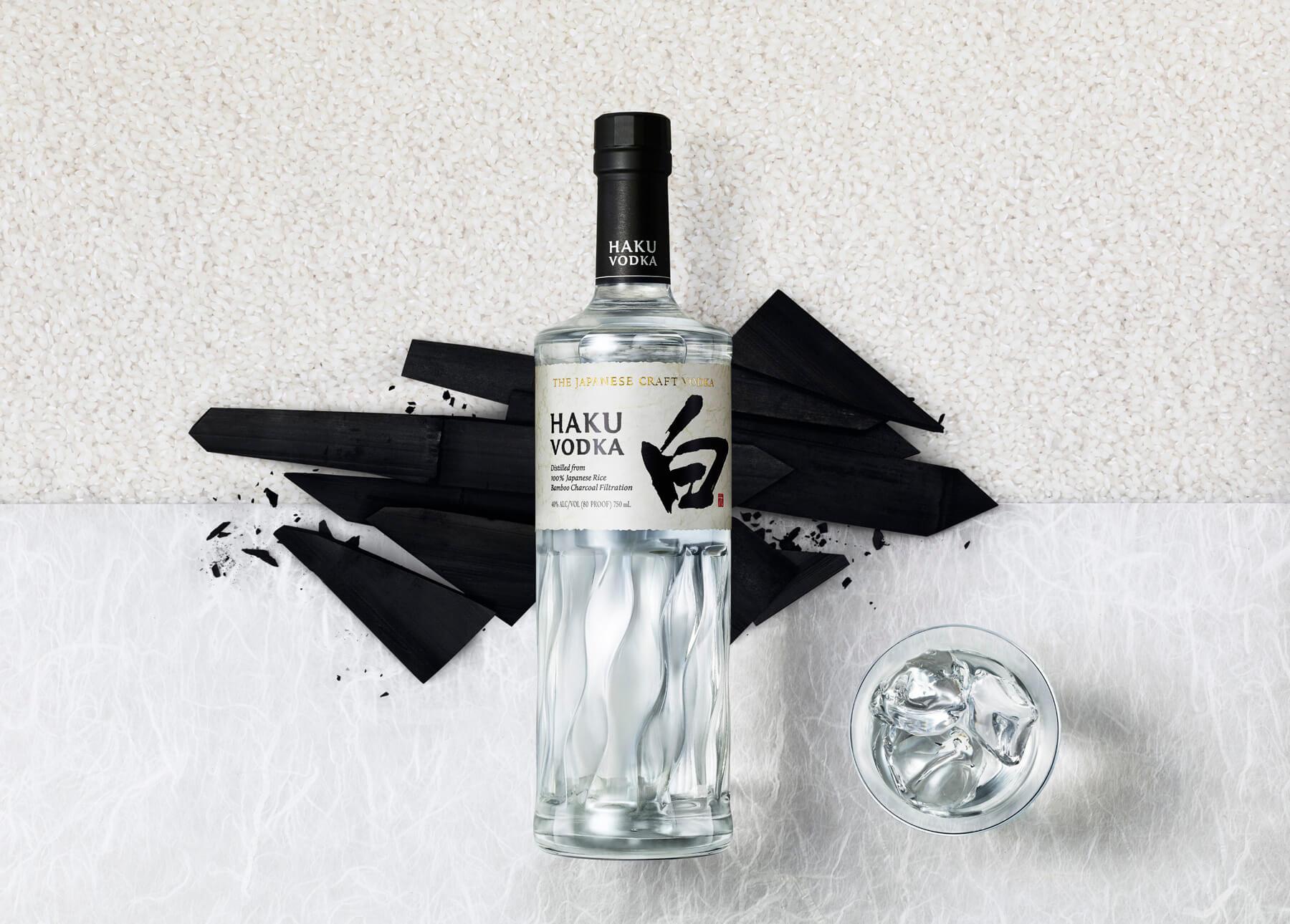 Haku Japanese Vodka is the latest addition to Beam Suntory's spirits portfolio