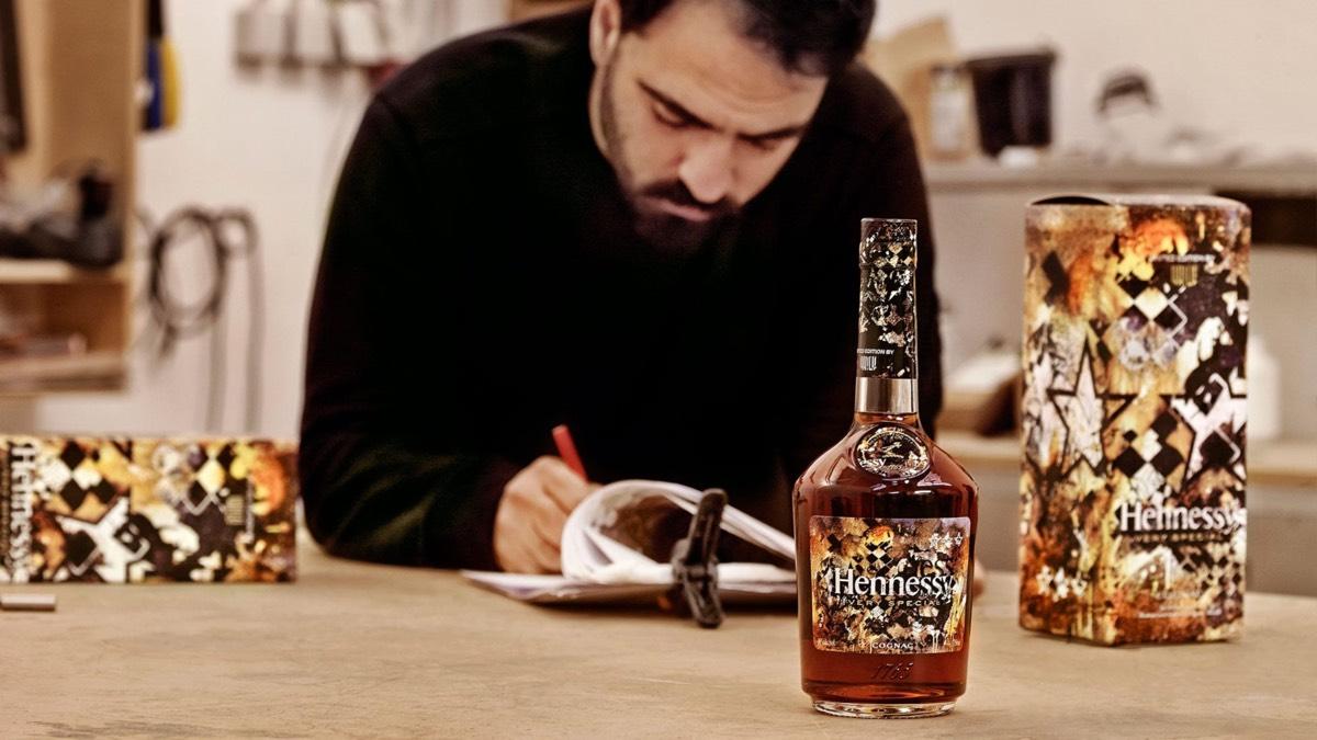 Hennessy se asocia con Vhils para su cognac 'Very Special 2018'