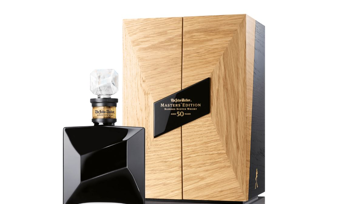 Johnnie Walker launch its first 50-year-old Scotch whisky - The John Walker Masters' Edition