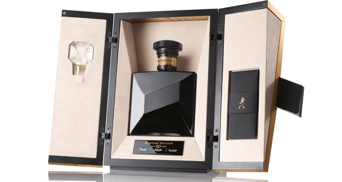 Johnnie Walker lanza el primer whisky de 50 años, John Walker Masters' Edition