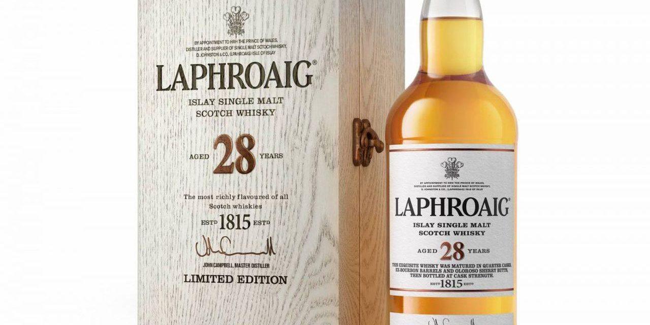 La edición limitada Laphroaig 28 debuta en Estados Unidos