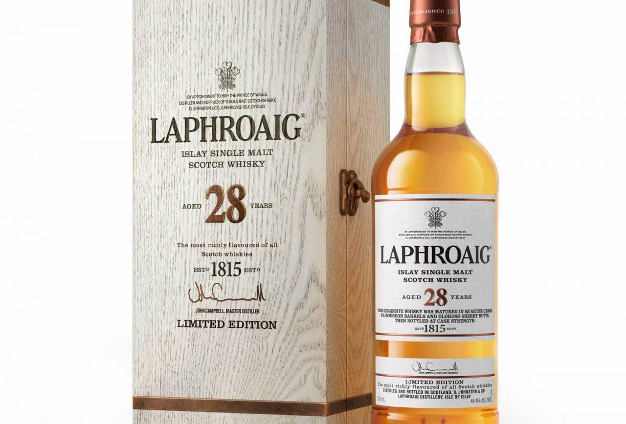 Laphroaig 28 Year Old has an RRP of US$799