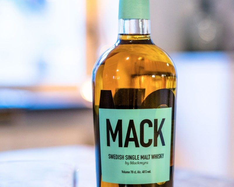 Mackmyra lanza botellas de whisky inteligentes