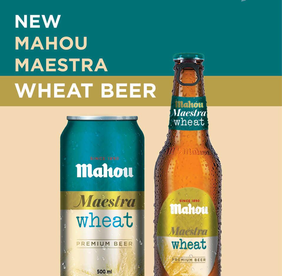 Mahou San Miguel refuerza su oferta en India con 'Mahou Maestra Wheat'