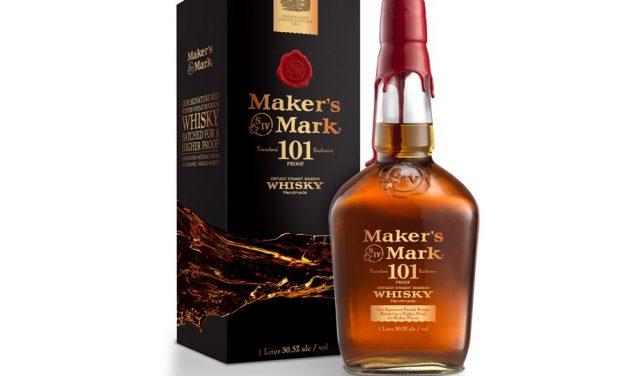 Maker's Mark presenta su primer Bourbon exclusivo de GTR, Maker's Mark 101