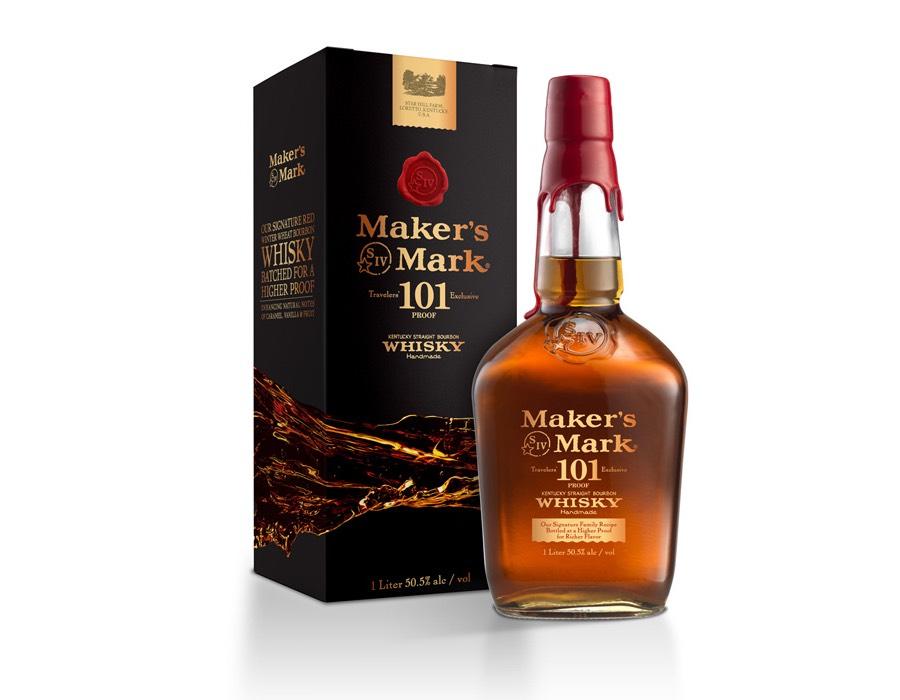Botella de Makers Mark 101