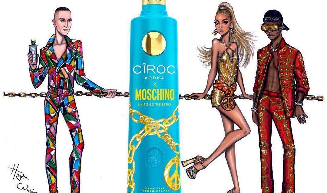 Cîroc inicia una colaboración con Moschino en Cîroc x Moschino