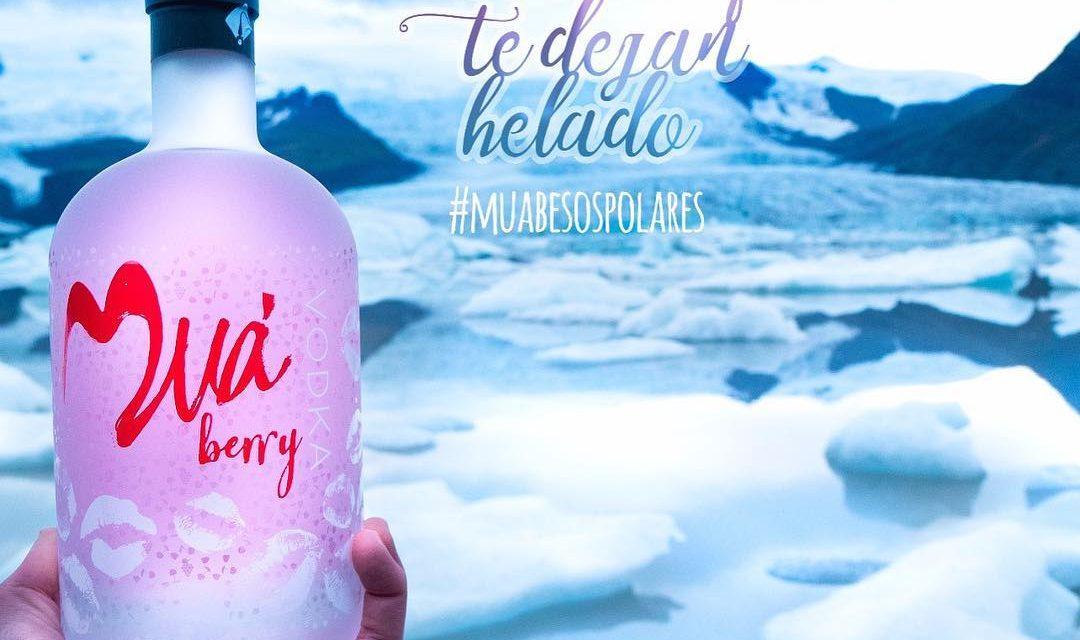 Muà Berry, el vodka del más dulce de los besos