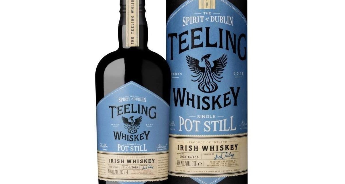 La destilería Teeling lanza su primer whisky de Dublín, Teeling Single Pot Still Irish Whiskey