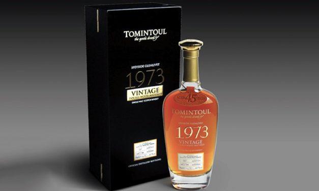 Tomintoul lanza un whisky single malt de 45 años, Tomintoul Vintage 1973 Double Wood Matured
