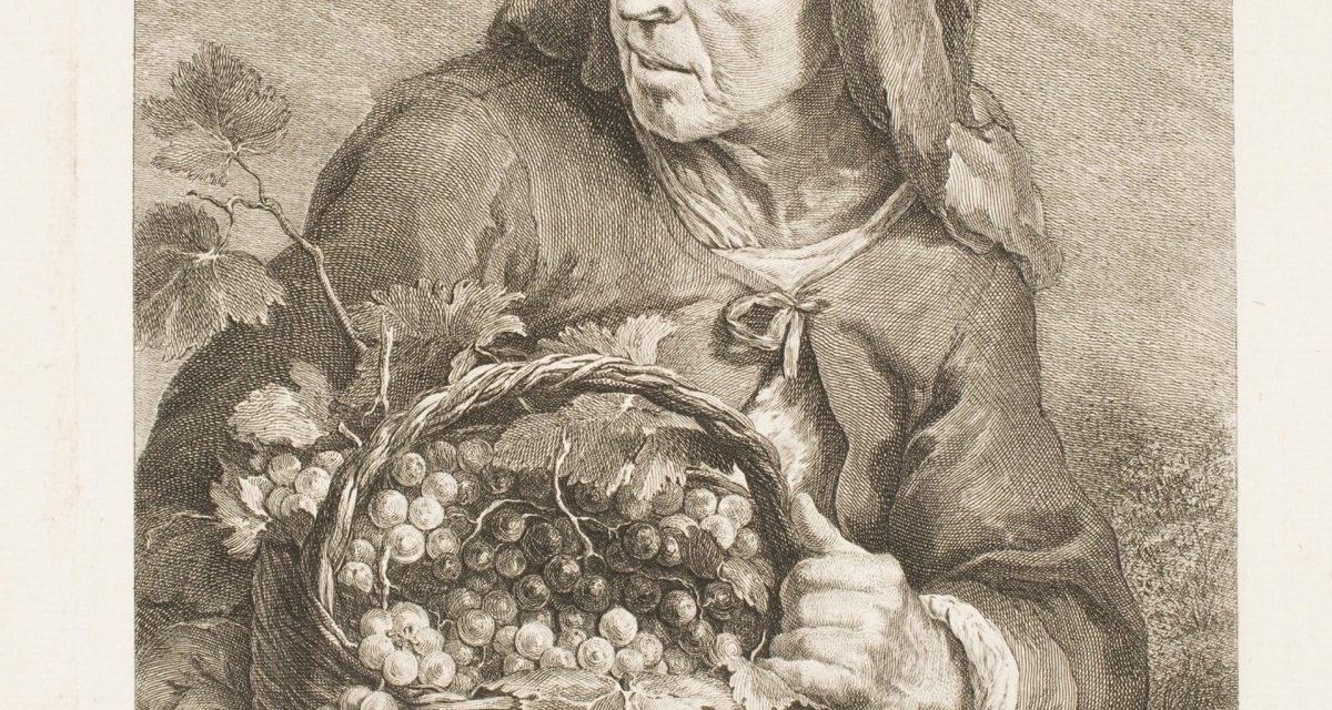 """La vendimiadora"" (hacia 1768), de Juan Antonio Salvador Carmona"
