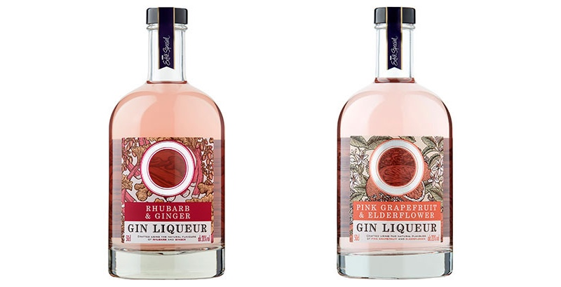 Asda pasa a la ginebra rosa con nuevos productos de Extra Special