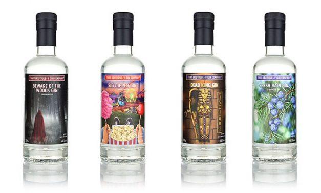 That Boutique-y Gin Company lanza una gama de ginebras de inspiración aromática, Olfactor-y Gin