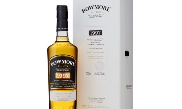 Bowmore 1997, venta exclusiva en Travel Retail
