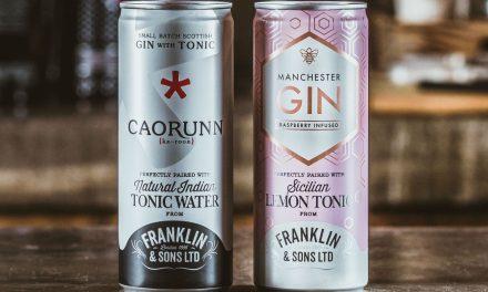 Franklin & Sons amplía la gama de G&T con 2 nuevos gin tonics listos para beber