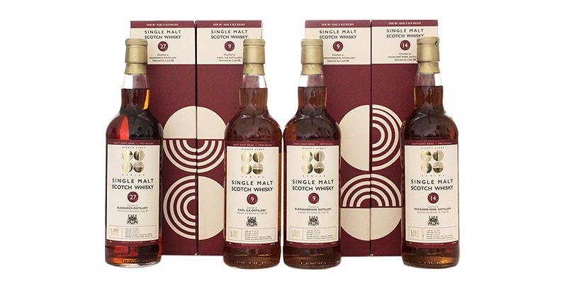 Cask 88 presenta su cuarta serie de whiskies en barrica, Cask 88 Eighty Eight Series