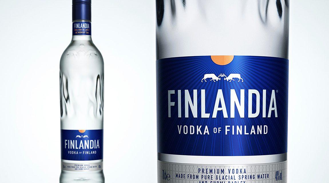 Brown-Forman presenta un nuevo diseño para el vodka Finlandia