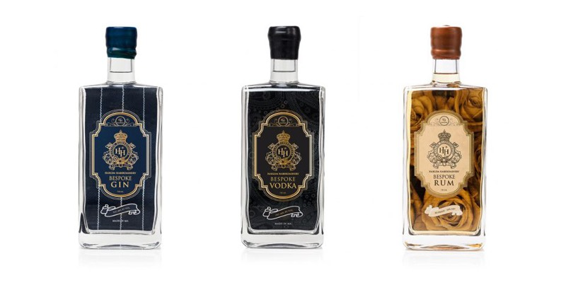 Harlem Haberdashery has launched a gin, rum and vodka under its HH Bespoke Spirits Collection