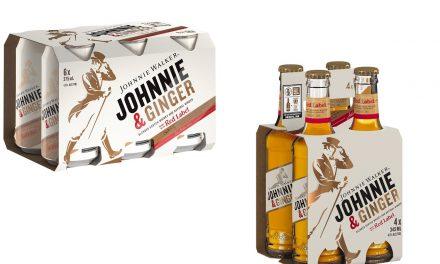 Johnnie Walker lanza Johnnie & Ginger, whisky y ginger ale en RTD