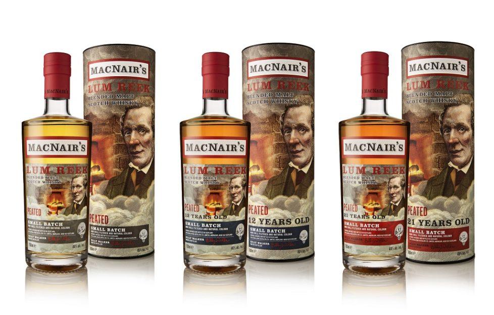 La marca MacNair 'revive' con nuevos whiskies en Lum de MacNair