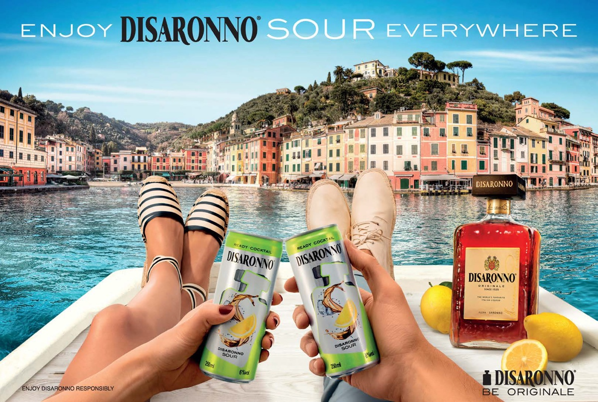 Canned Disaronno Sour Ready Cocktail released