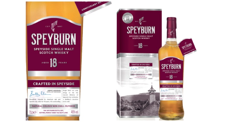 Speyburn Distillery lanza 18 Years Old