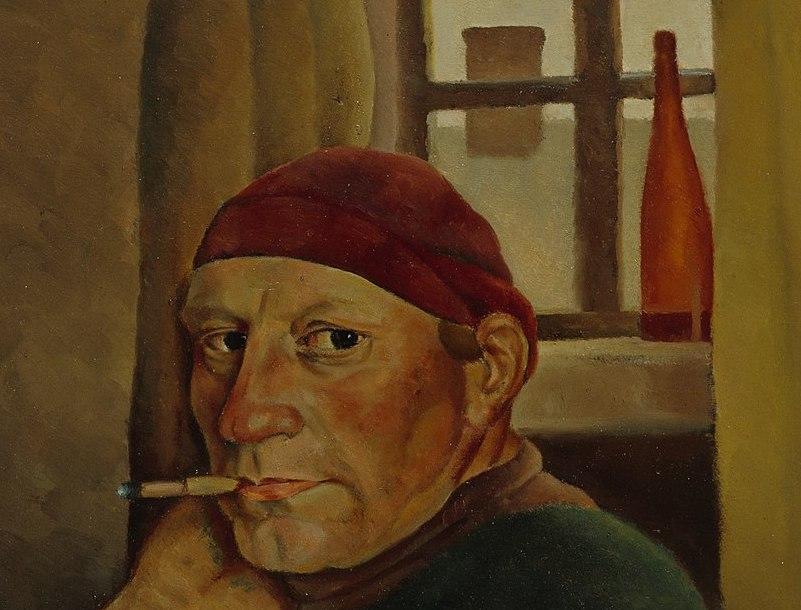 """Autorretrato"" (1934), de Vilho Lampi"