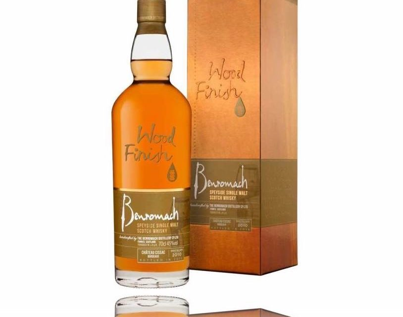 Benromach lanza su segundo whisky de barril Château Cissac, Benromach Château Cissac Bordeaux Wood Finish 2010