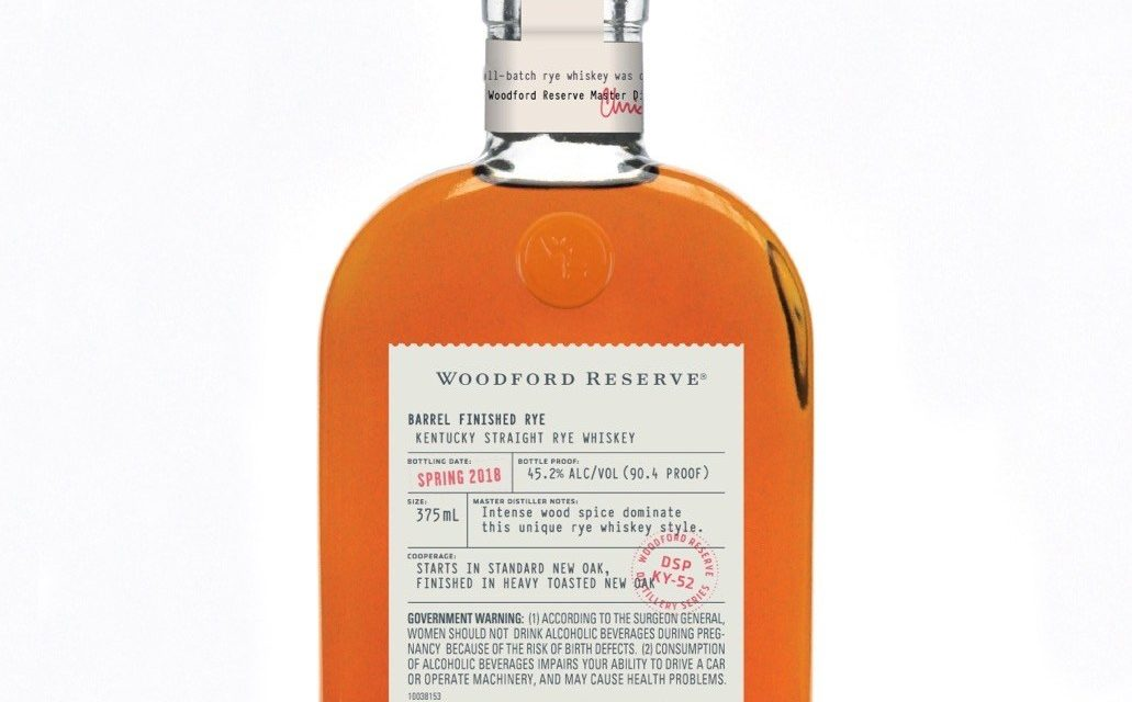 Woodford añade Woodford Reserve Bottled in Bond a Distillery Series
