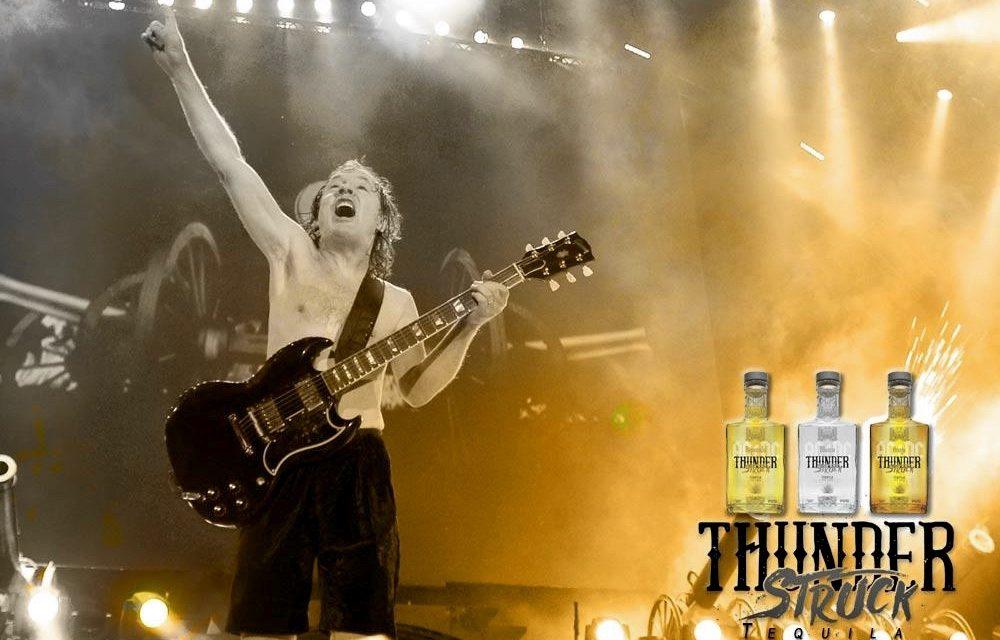 ACDC Thunderstruck Tequila se lanza en Travel Retail con Heinemann