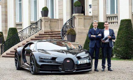 Bugatti y Champagne Carbon se unen en un lanzamiento inspirado en el automovilismo