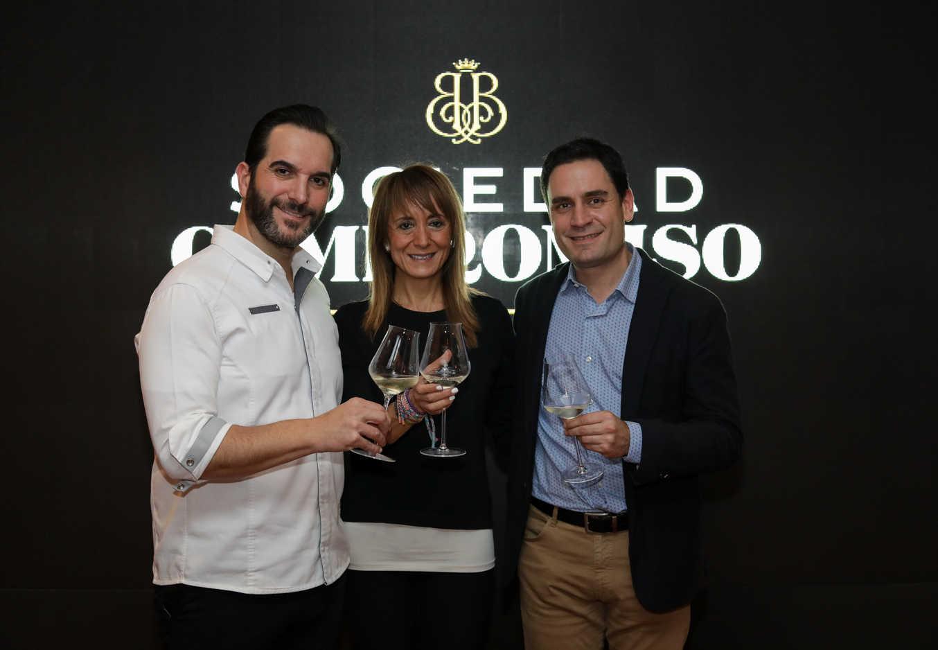 Alianza de 'Viña Pomal' con restaurantes como Arzak y Coque