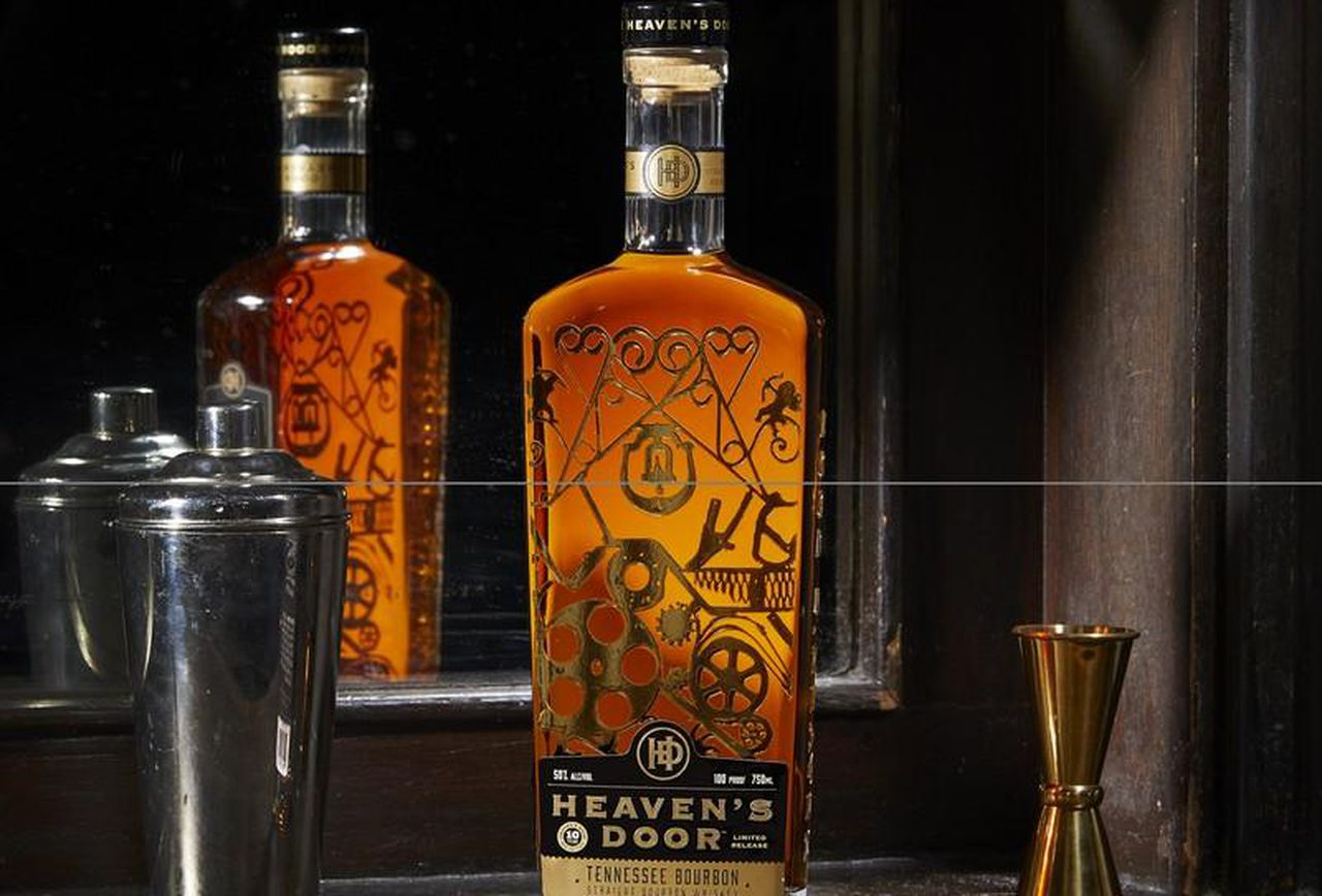 Heaven's Door's 10-year-old Tennessee Bourbon is priced at US$129.99
