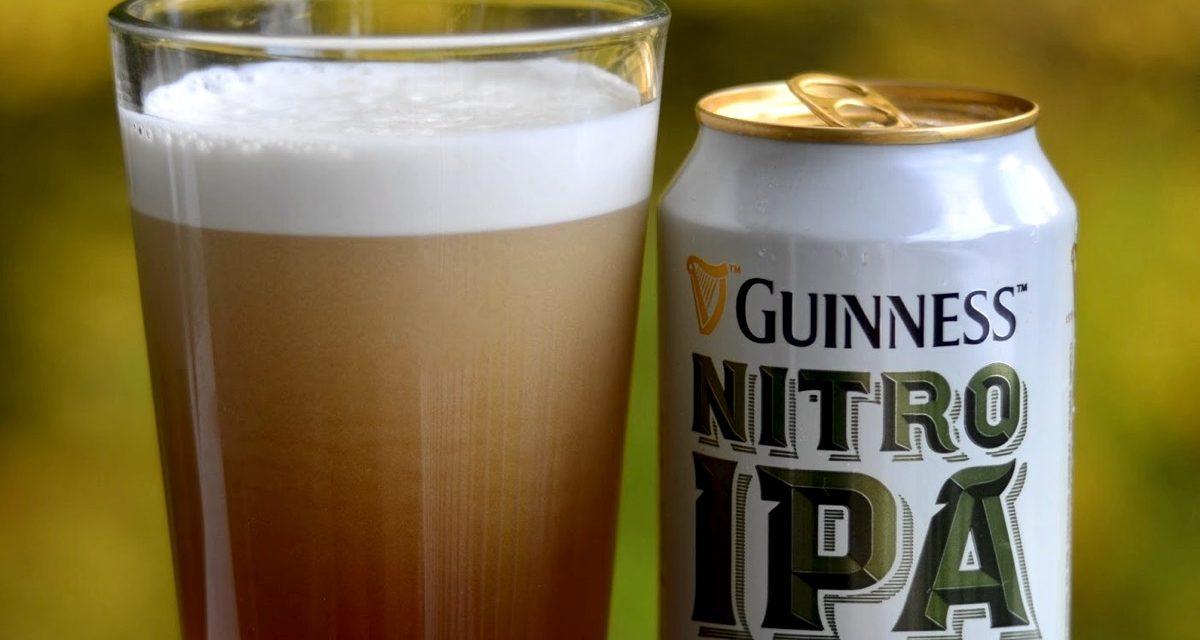 Guinness lanza 'Guinness Nitro IPA', Indian Pale Ale que usa nitrógeno