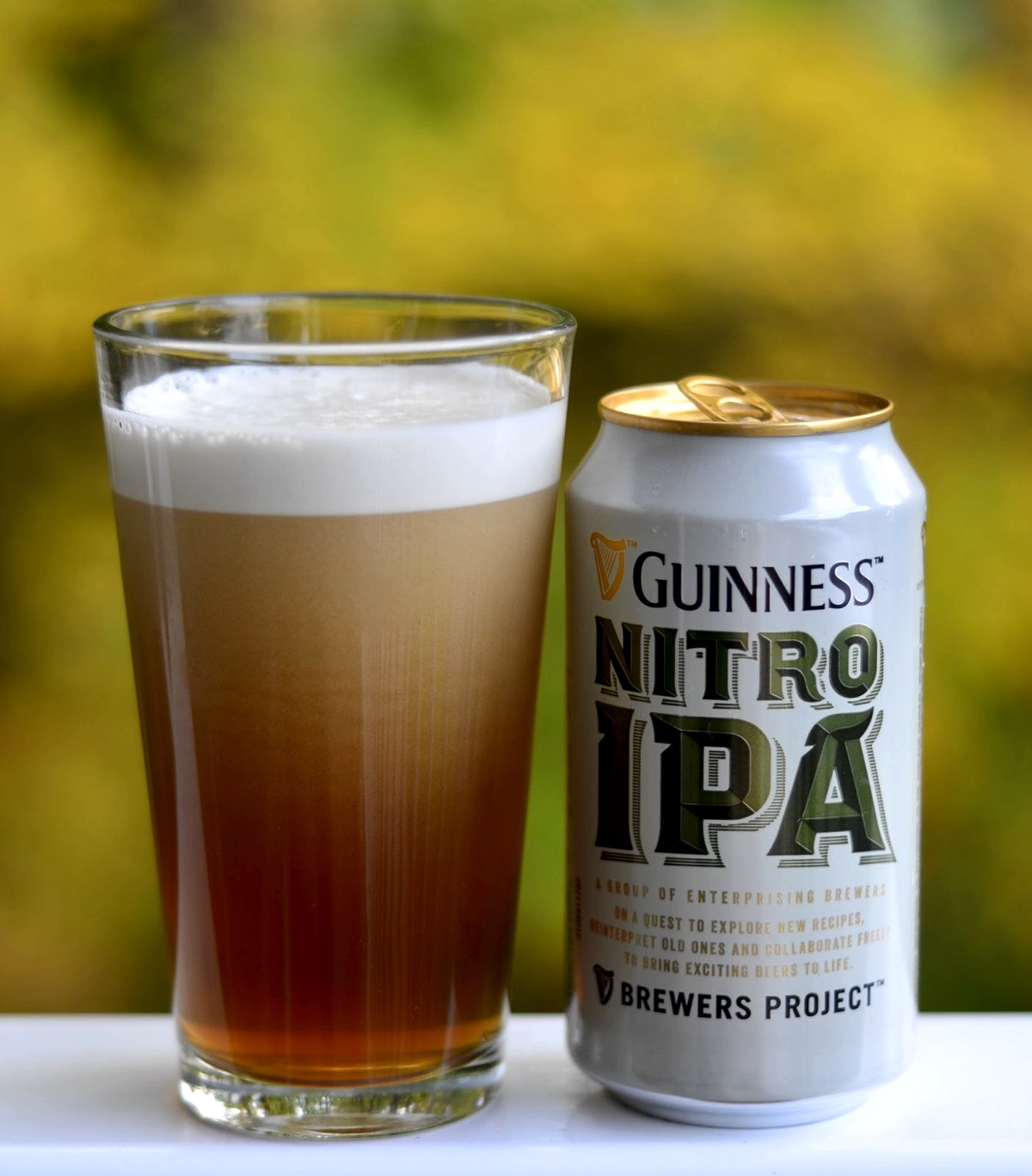 Guinness lanza una IPA nitrogenada