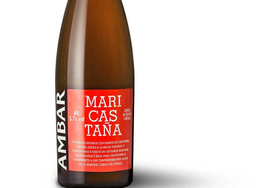 'Ambar' presenta 'Mari Castaña', su cerveza de invierno