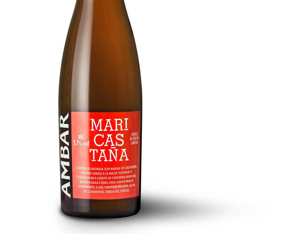 'Ambar' presenta su cerveza de invierno 'Mari Castaña'