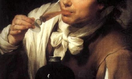 """""""Hombre joven bebiendo"""" (1655), de Bartolomé Esteban Murillo"""